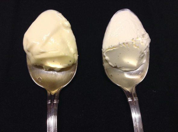 creme fraiche spoons